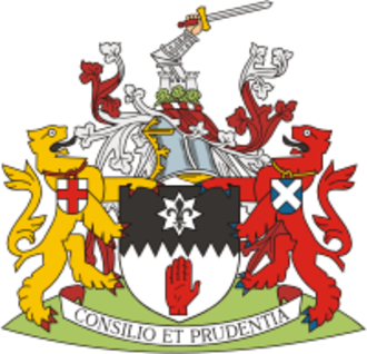 County Tyrone - Image: Arms of County Tyrone