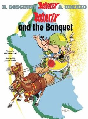 Asterix and the Banquet - Image: Asterixcover asterix and the banquet
