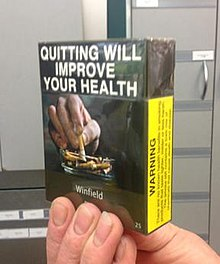 Plain tobacco packaging - Wikipedia