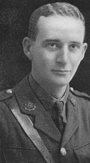Basil Horsfall Recipient of the Victoria Cross