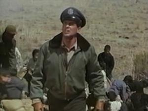 Battle Hymn (film) -  Rock Hudson as Col. Hess gathers up a group of orphans.