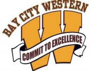 Bay City Western High School - Image: Bay City Western HS logo