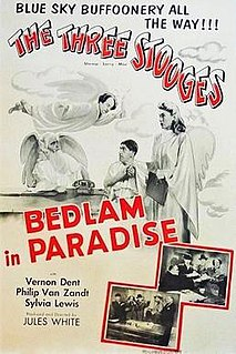 <i>Bedlam in Paradise</i> 1955 film by Jules White