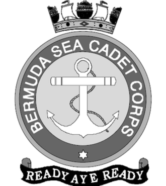 Bermuda Sea Cadet Corps - The badge of the Bermuda Sea Cadet Corps