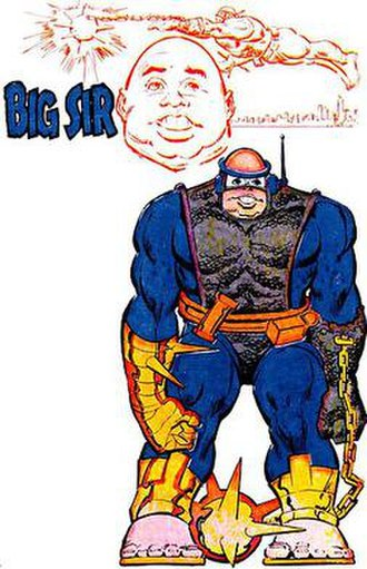 Big Sir (comics) - Image: Big Sir