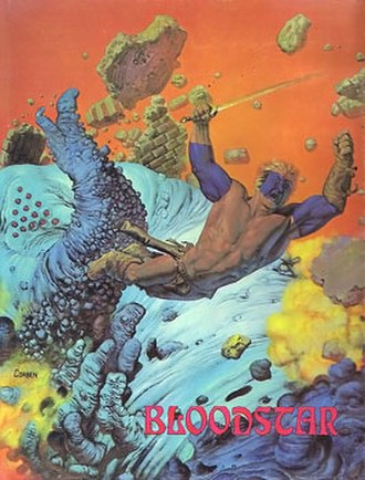 Graphic novel - Bloodstar (1976) by Robert E. Howard and artist Richard Corben