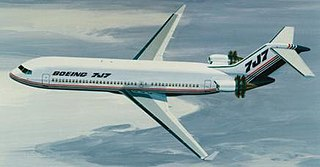 Proposed short to medium range airline that would have succeeded the 727