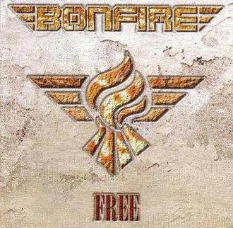 Free (Bonfire album) - Image: Bonfire Free white