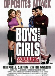 <i>Boys and Girls</i> (2000 film) 2000 film by Robert Iscove
