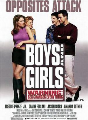 Boys and Girls (2000 film) - Theatrical release poster