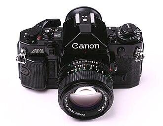 Canon A-1 - A-1 top