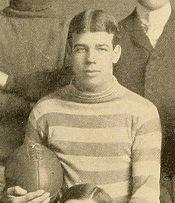 Tulane football team captain Charles Eshleman ...
