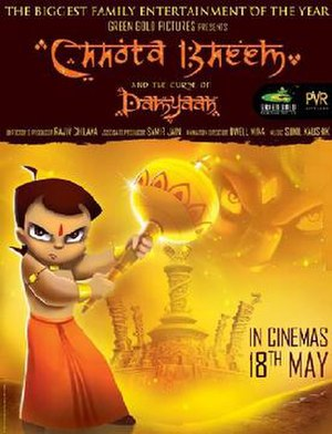 Chhota Bheem and the Curse of Damyaan - Theatrical Poster