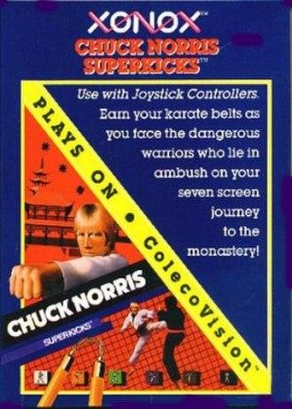 Chuck Norris Superkicks - Colecovision cover art