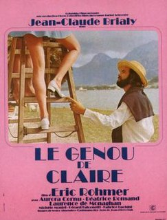 <i>Claires Knee</i> 1970 film by Éric Rohmer