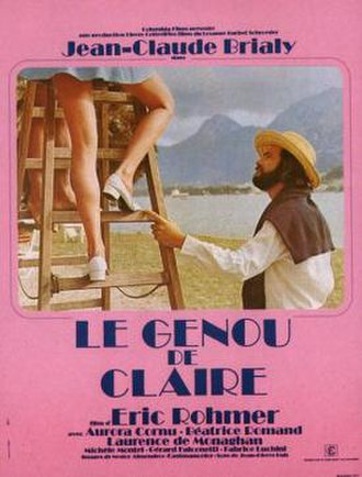 Claire's Knee - Film poster