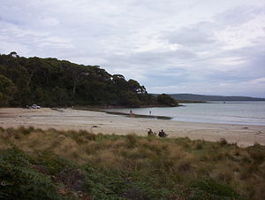 Cloudy Bay (Tasmania) - Image: Cloudy Bay 001