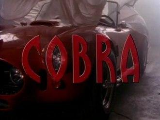 Cobra (TV series) - Cobra Title card
