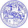 Official seal of Coldwater, Ohio