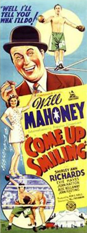 Come Up Smiling - Original theatrical release poster