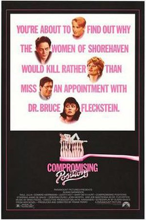 Compromising Positions - Image: Compromising Positions poster