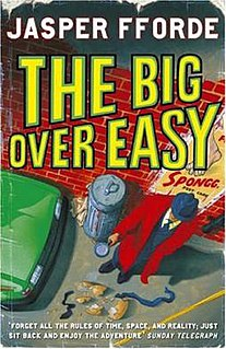 <i>The Big Over Easy</i> novel by Jasper Fforde