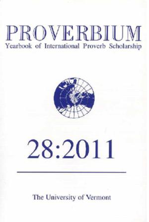 Proverbium - Cover of Proverbium.