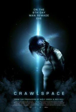 Crawlspace (2012 film) - Theatrical release poster