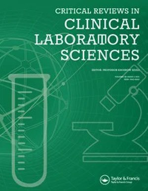 Critical Reviews in Clinical Laboratory Sciences - Image:Critical Reviews Clinical Laboratory Sciences Cover.jpg