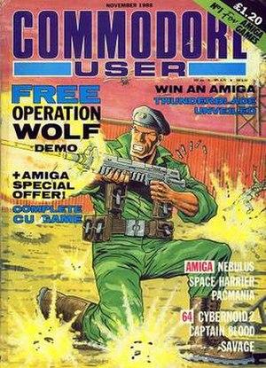 Commodore User - Commodore User, November 1988