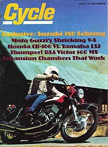 March 1972 Cycle cover