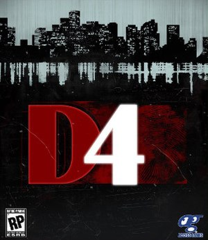 D4: Dark Dreams Don't Die - Image: D4 Dark Dreams Don't Die cover art