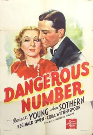 Dangerous Number - theatrical release poster