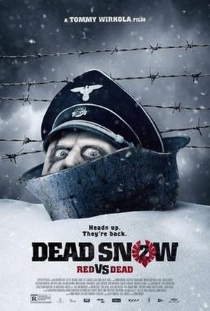 Dead Snow: Red vs. Dead - Theatrical release poster