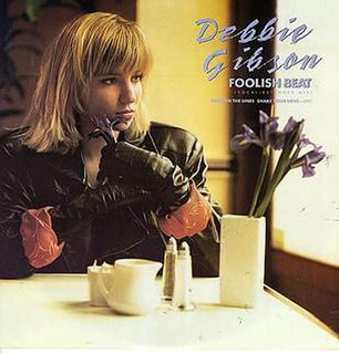 Foolish Beat 1988 single by Debbie Gibson
