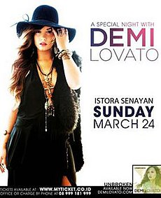 A special night with demi lovato wikipedia a special night with demi lovato m4hsunfo