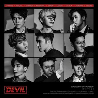Devil (Super Junior album) - Image: Devil Super Junior album