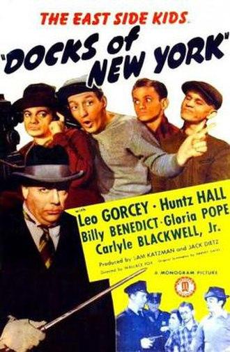 Docks of New York - Image: Docks of New York Film Poster