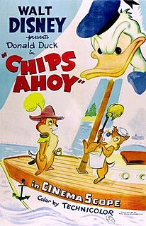 <i>Chips Ahoy</i> (film) 1956 Donald Duck cartoon