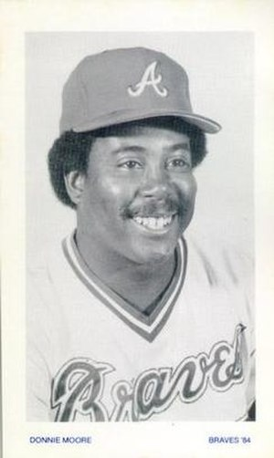 Donnie Moore - Image: Donnie Moore 1984 Atlanta Braves photo card