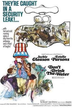 Don't Drink the Water (1969 film) - Film poster by Sandy Kossin