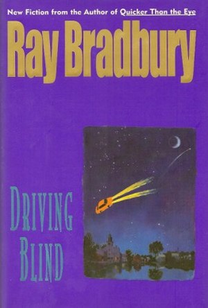 Driving Blind - dust-jacket from the first edition
