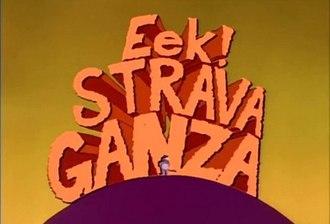 Eek! The Cat - Image: Eek stravaganza title