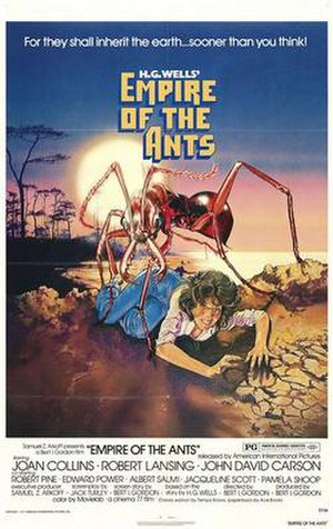 Empire of the Ants (film) - Film poster by Drew Struzan