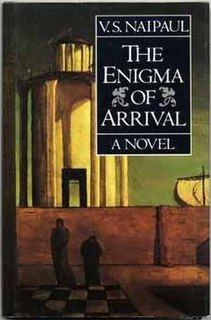 <i>The Enigma of Arrival</i> book by V.S. Naipaul