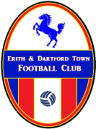 Kent Football United F.C. - Image: Erith & Dartford Town F.C. logo
