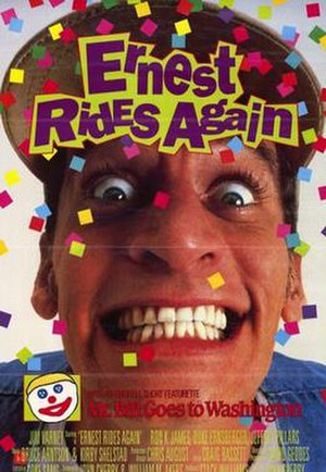 Ernest Rides Again - Theatrical release poster