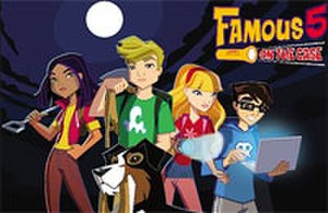 "The Famous Five (novel series) - Jo, Max, Allie, Dylan and Timmy from ""Famous 5: On the Case"" (2008)"