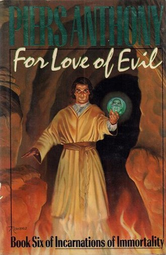For Love of Evil - Paperback book cover