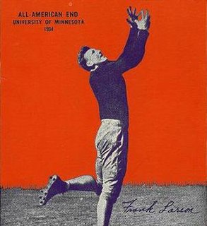 Frank Larson American football player and coach